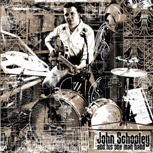 John Schooley and his one man band - same